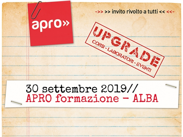 UPGRADE: Corsi, Laboratori, Eventi